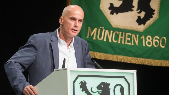 TSV Praesident Robert REISINGER TSV 1860 Muenchen TSV 1860 Muenchen Mitgliederversammlung am 23; TSV 1860 München