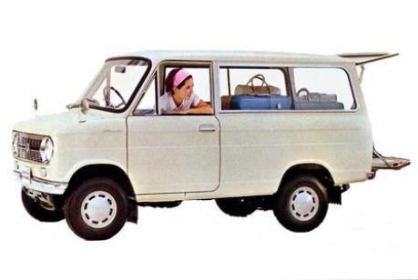 Suzuki Minivan - 1966