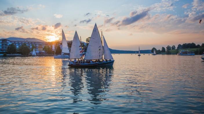 Start der legendären Tegernseer Seefeste am 10. Juli 2018