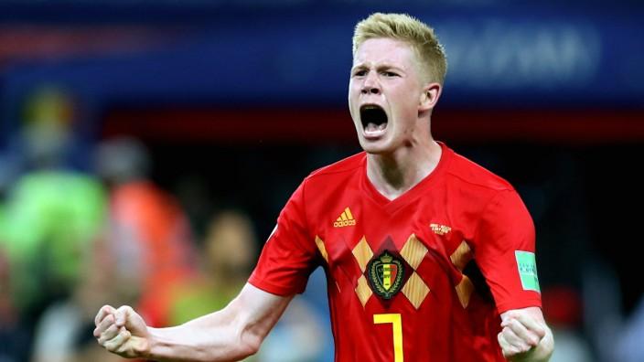 WM 2018 - Brasilien - Belgien