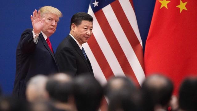 US-Präsident Donald Trump und Chinas Präsident Xi Jinping