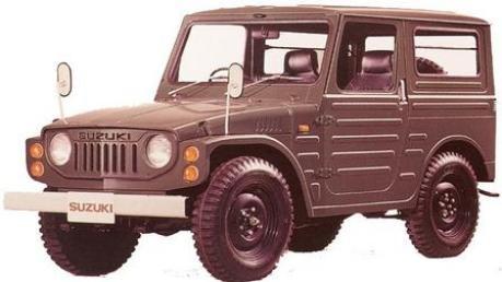 der kleine Suzuki-Geländewagen von 1974