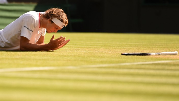 Wimbledon: Aus in Runde drei: Alexander Zverev verliert in Wimbledon gegen Ernests Gulbis.