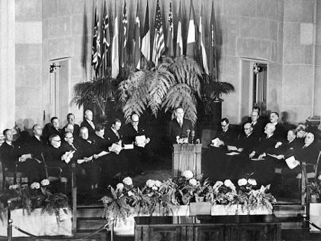 Gründung der Nato, dpa