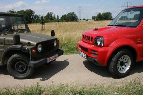 Suzuki LJ und Jimny