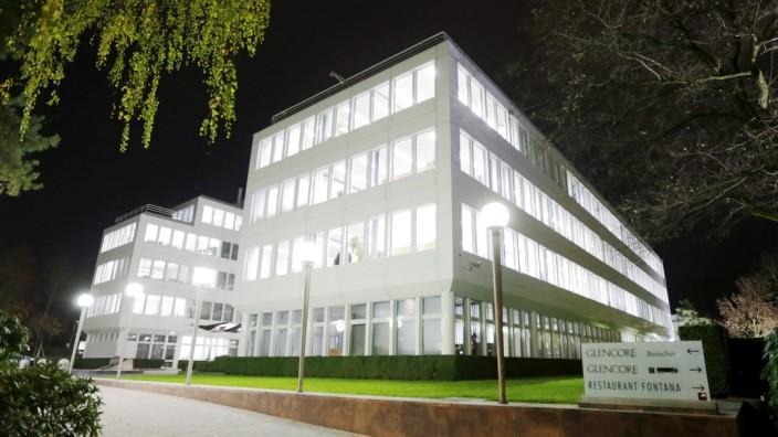 Glencore-Firmenzentrale in Baar (Schweiz)