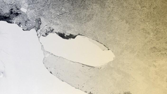 Eisberg A68 in der Antarktis