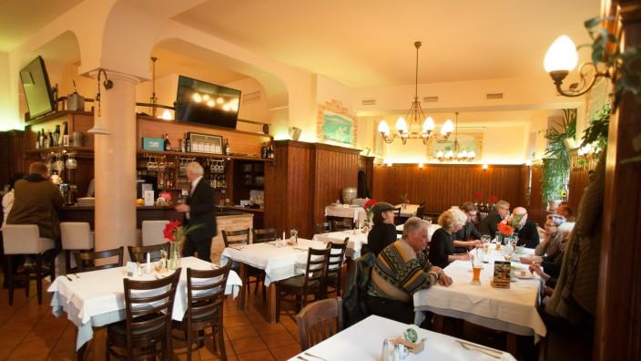 Taverne Lithos im Brecherspitz, St.-Martin-Straße 38