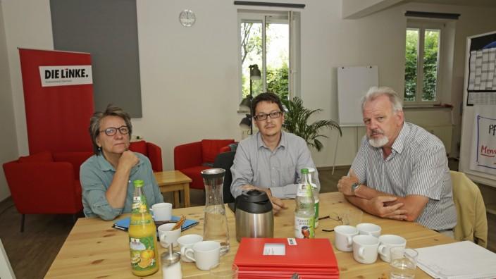 Für Familien: Wünschen sich wohnortnahe Geburten (v.l.n.r.): Cornelia Möhring, Andreas Wagner und Harald Weinberg.