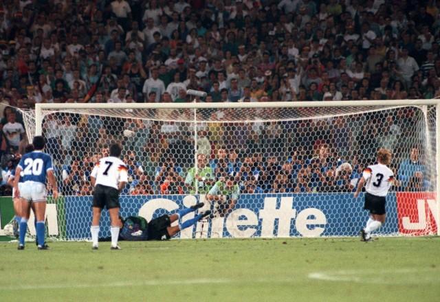 Fußball-WM 1990 in Italien: Finale Deutschland - Argentinien