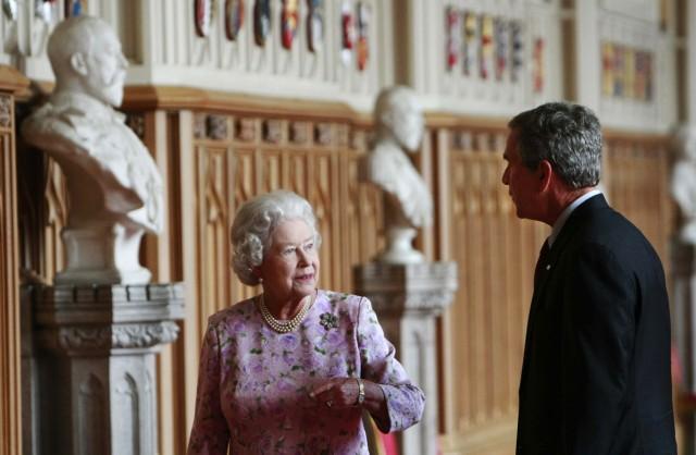 George W. Bush, Queen Elizabeth