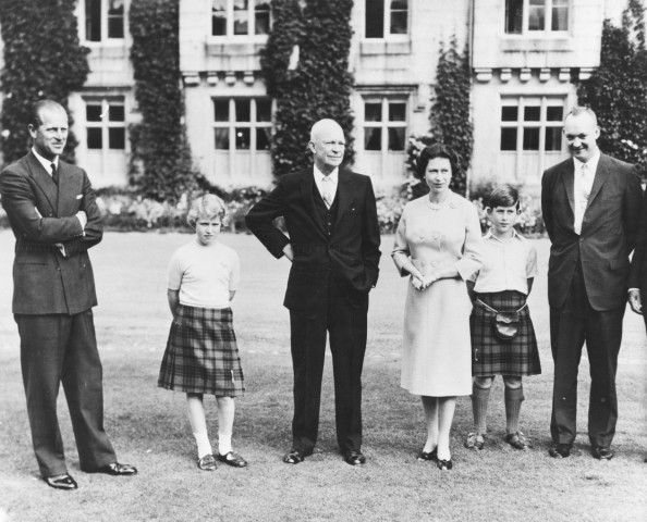 General Eisenhower And The Royal Family