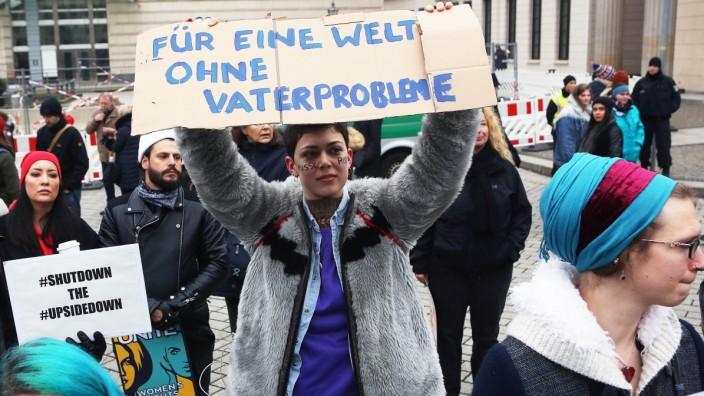 2018 Women's March In Berlin