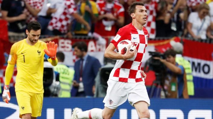 Mario Mandzukic im WM-Finale 2018 Frankreich gegen Kroatien