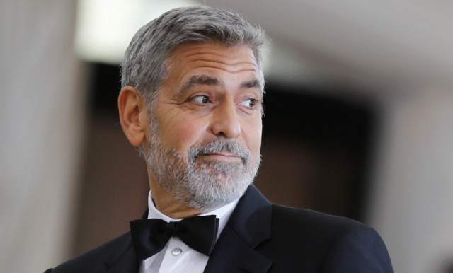 FILE PHOTO: Actor Clooney arrives at the Met Gala in New York