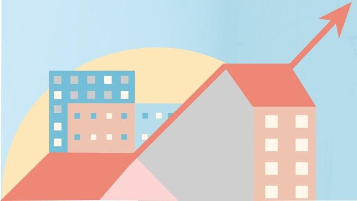 Ratgeber: Begrenzter Spielraum: Wie stark ein Vermieter in einem Mietshaus die Miete erhöhen darf, hängt auch davon ab, wie teuer andere, vergleichbare Wohnungen sind.