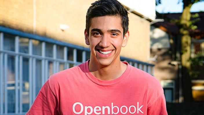 Openbook-Gründer Joel Levi Hernández