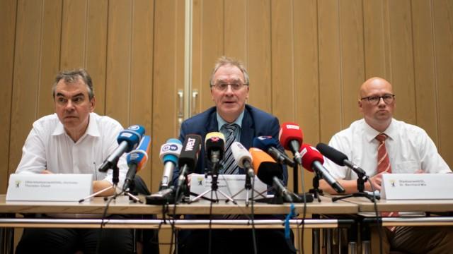 Pressekonferenz in Berlin zu Ermittlungen gegen kriminelle Clans
