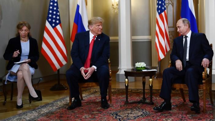 Trump Putin Treffen 2018 Helsinki
