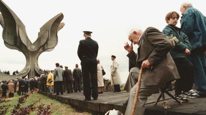 Gedenken an die Befreiung des KZ Jasenovac