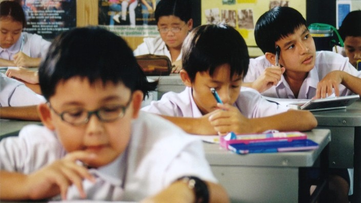 Chinesische Schüler