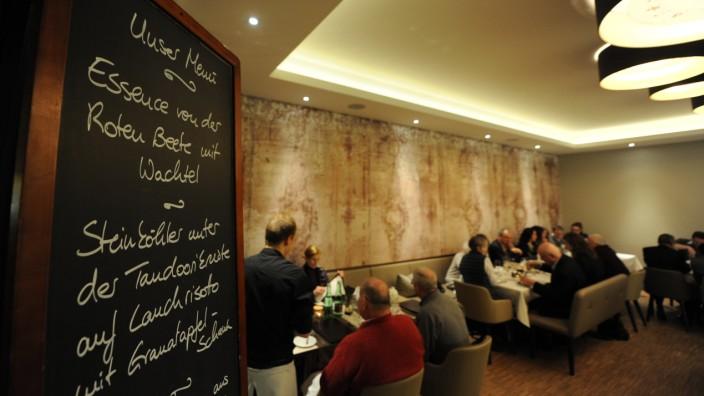 """Restaurant """"Essence"""" in München, 2013"""