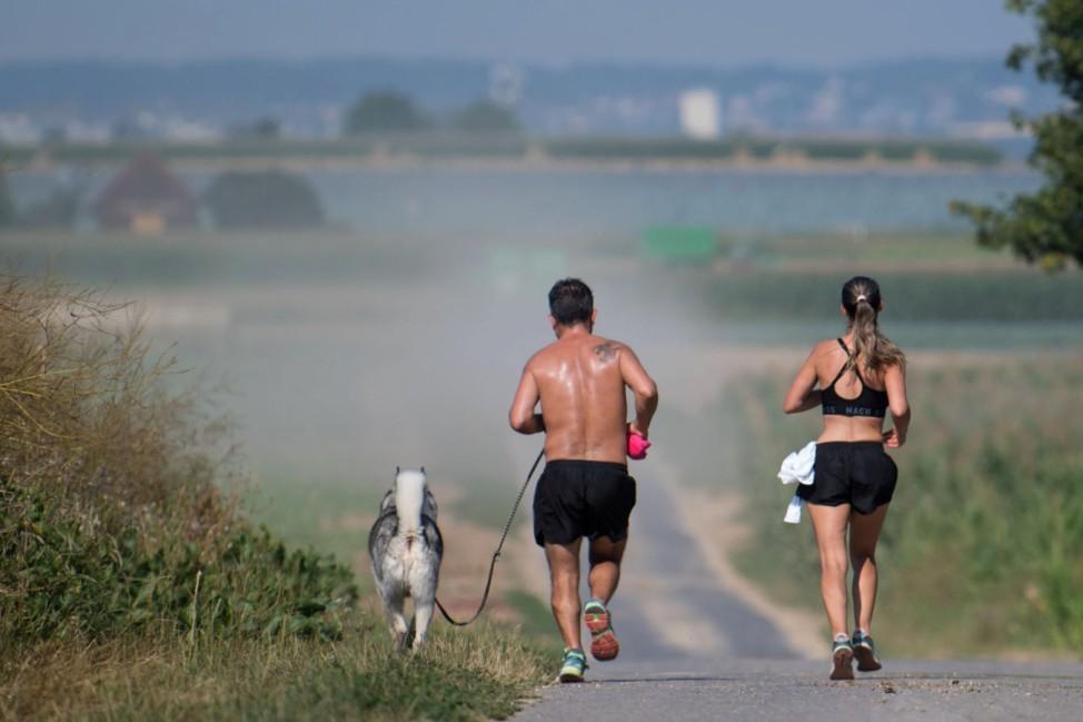 Sommerlauf trotz hoher Temperaturen