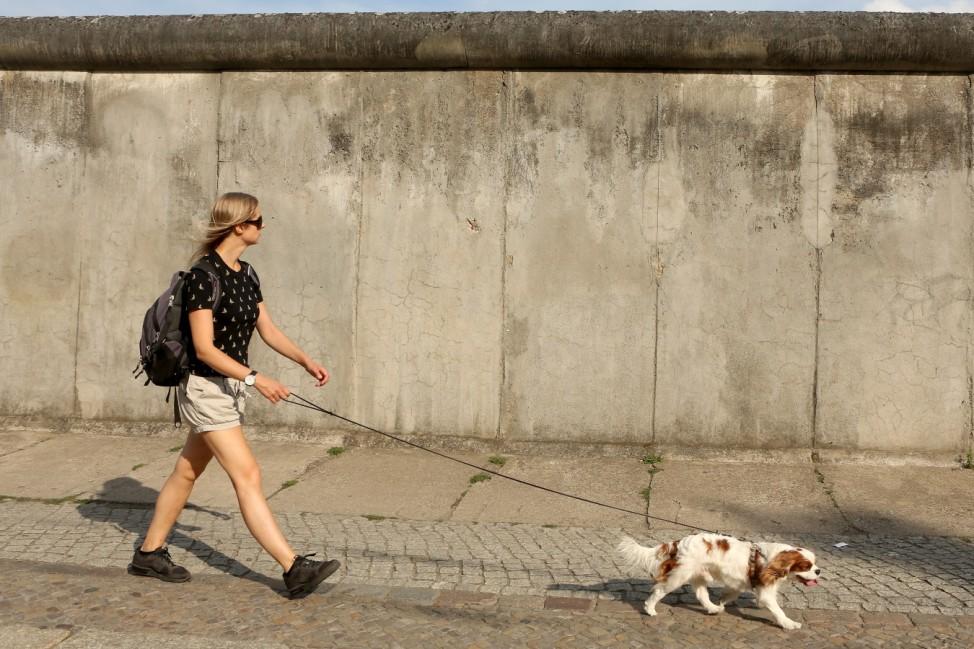 Hot Weather Persists In Berlin