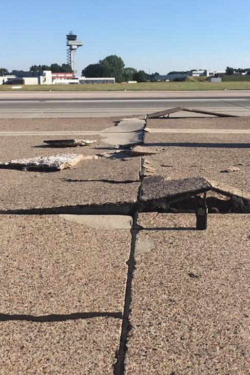Flughafen Langenhagen gesperrt
