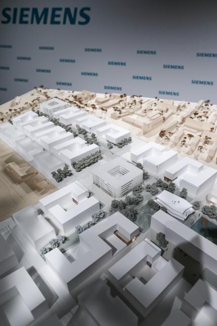 Erlanger Siemens-Campus - Modell