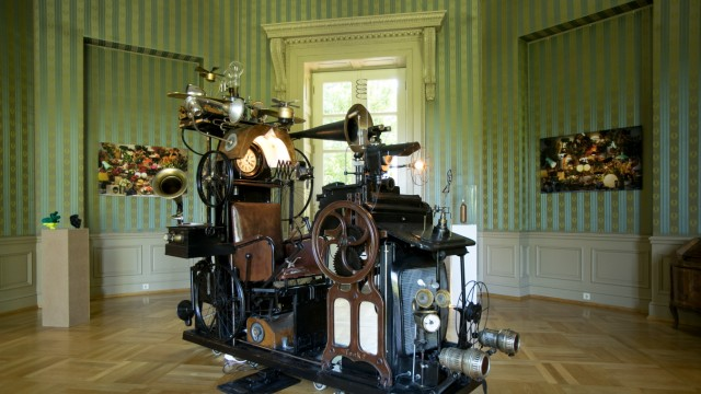 Ausstellung Zeitformen, Galerie im Schlosspavillon, Ismaning, Schlosspark
