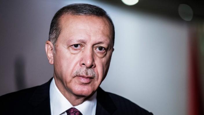 Der türkische Präsident Recep Tayyip Erdogan 2018 in Johannesburg