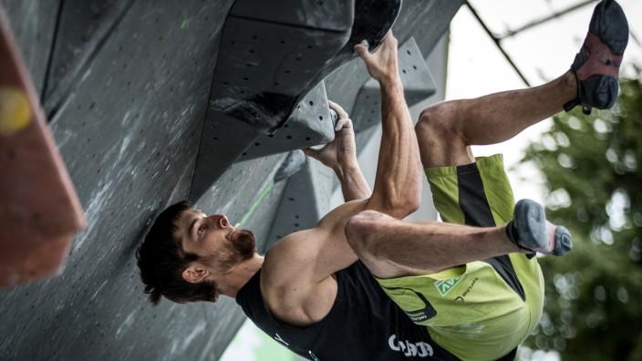 """Klettern: Jan Hojer, der erste deutsche Meister im """"Olympic Combined"""""""