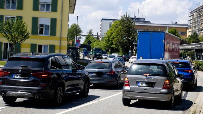 Sperrung Südumgehung - Verkehrssituation