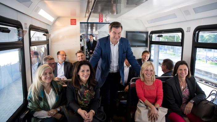 Kabinettssitzung auf der Zugspitze