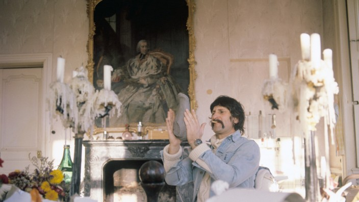Luigi Colani 1973 im Schloss Harkotten