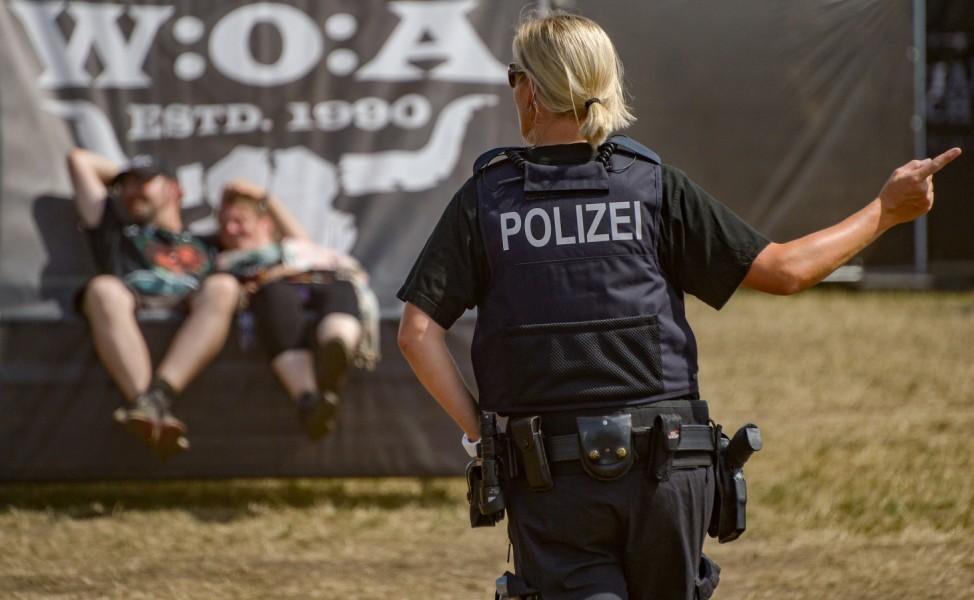 Wacken Open Air - Hitze beim Festival