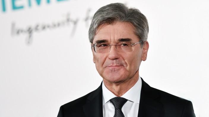 Siemens Hauptversammlung 2018/ Pressekonferenz