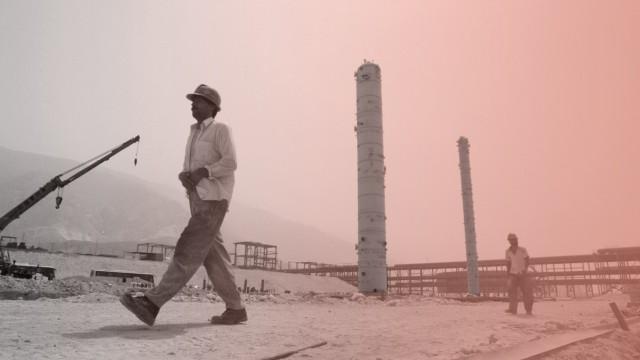 Iran: Gas-Feld am Persischen Golf