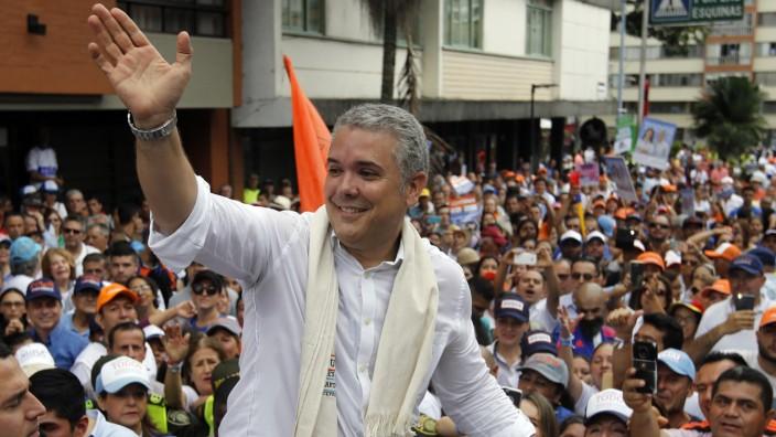 Regierungswechsel in Kolumbien - Ivan Duque