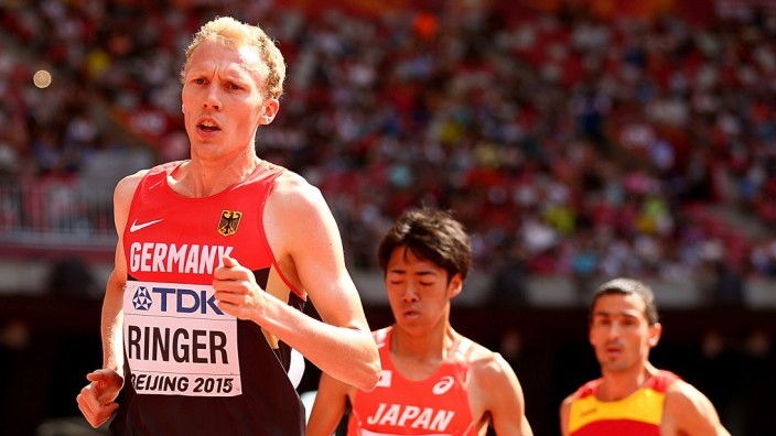 Leichtathletik: Der deutsche Langstreckenläufer Richard Ringer