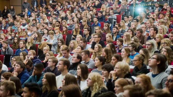 Semesterbeginn an der Uni Hannover