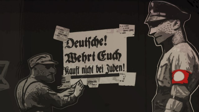 Screenshot aus dem Spiel Through the Darkest of Times.
