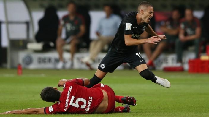Frankfurt, 12.08.2018, firo, Fußball, 1.Bundesliga, Saison 2018/2019, Eintracht Frankfurt - FC Bayern München,