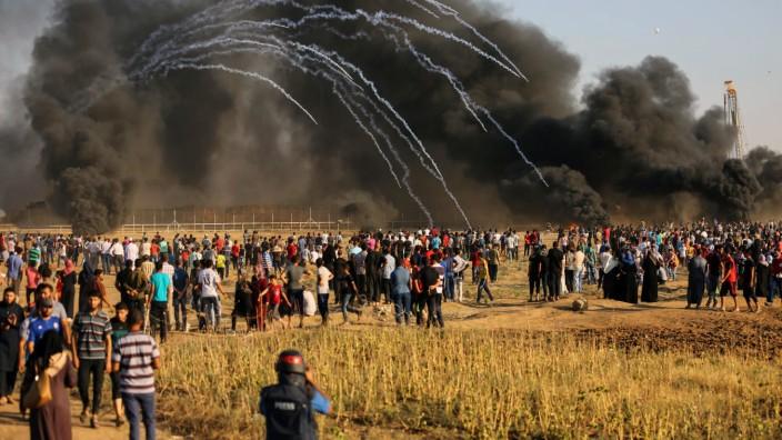 Zusammenstöße an der Gaza-Grenze