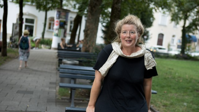 Ruth Feile am Alpenplatz in Giesing