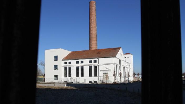 Kesselhaus auf dem Diamalt Gelände in München Allach, 2014