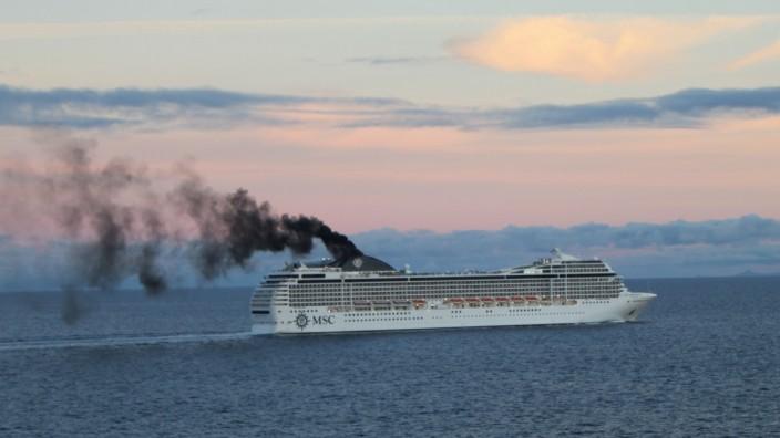 Kreuzfahrt Ruß Abgas Kreuzfahrtschiff Schiff Umweltschutz Schiffsreise