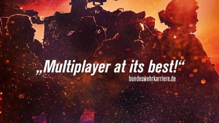 Die provokanten Gamescom-Plakate der Bundeswehr:
