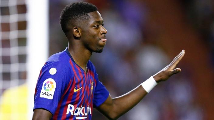Ousmane Dembélé: Ousmane Dembélé ist nie richtig angekommen in Barcelona. Nun denkt der Klub über einen Verkauf des Franzosen nach.